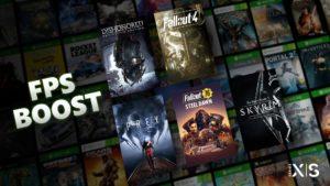 Xbox FPS Boost Bethesda März 2021