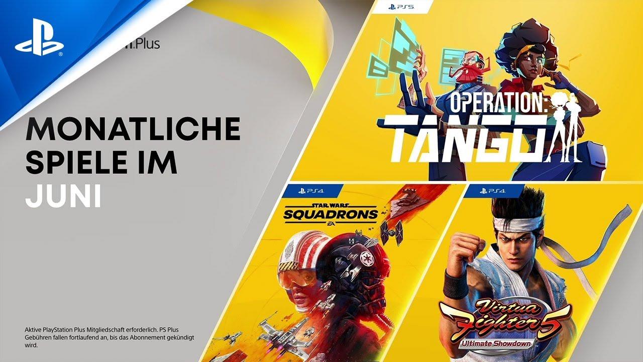 PlayStation Plus Juni 2021