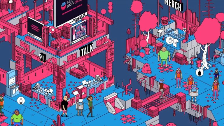 gamescom 2021 Indie Arena Booth